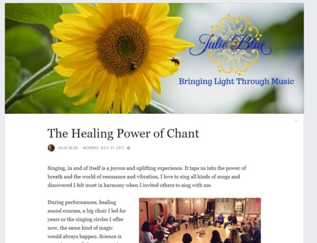 The Healing Power of Chant